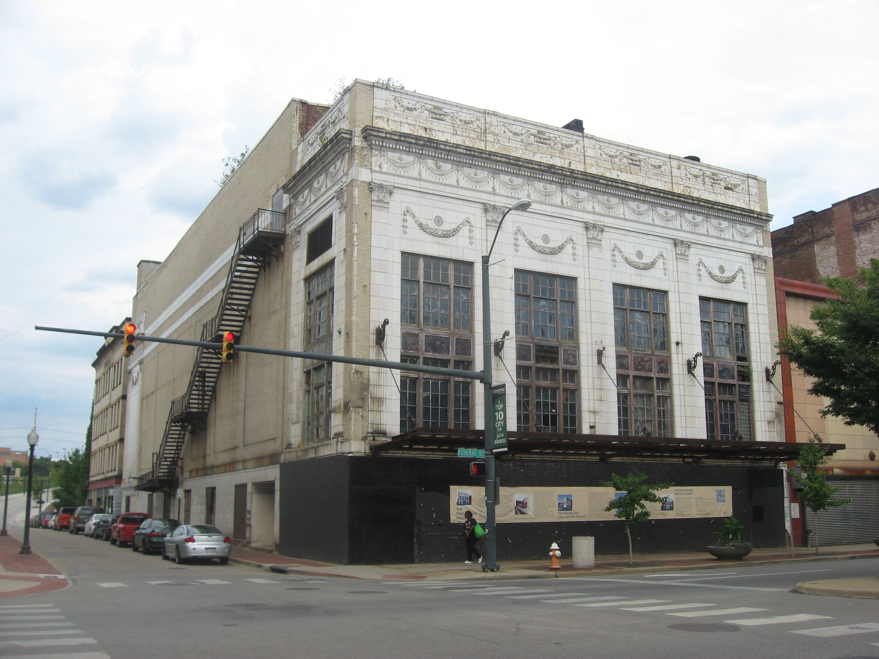 Liberty/Paramount Theater before demolition.