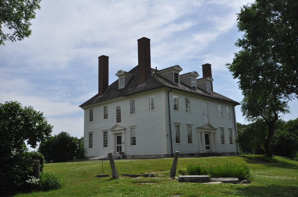 Hamilton House has existed at this spot for well over 230 years.