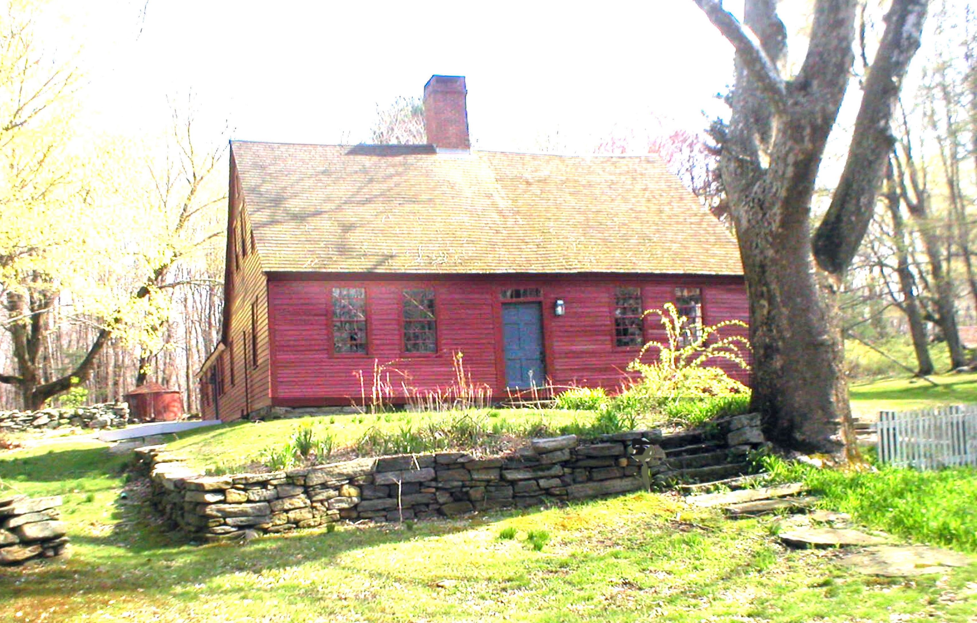 The Benton Homestead dates to the 18th century and is now a museum.