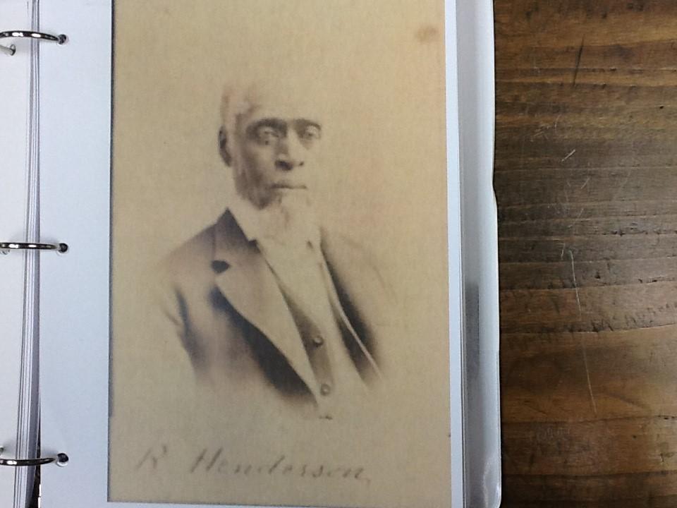 Benjamin Henderson, unknown year