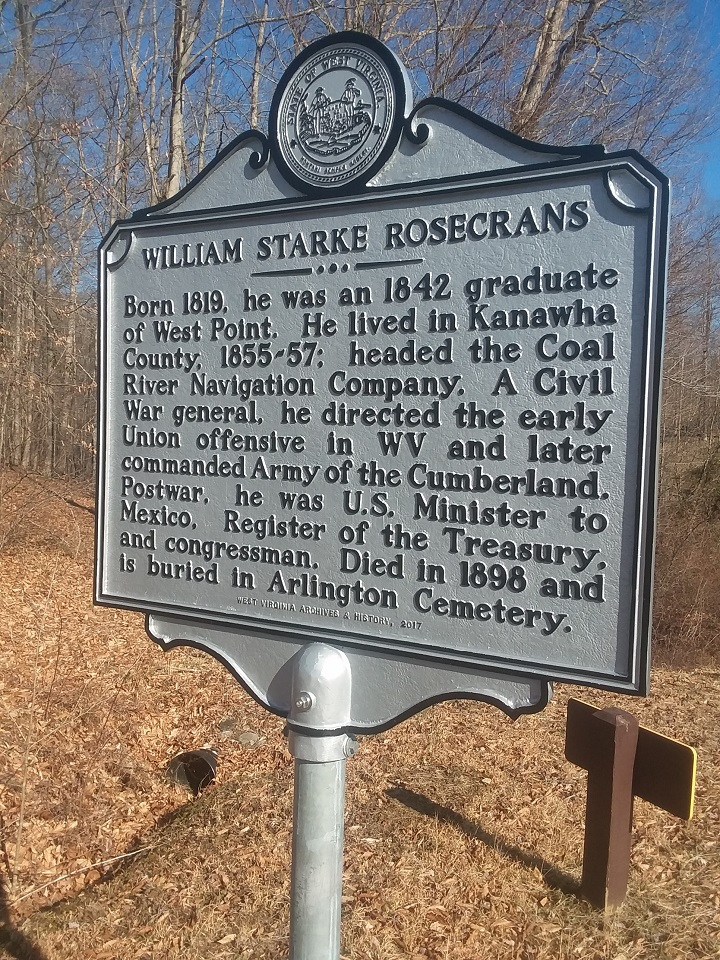 William Starke Rosecrans Highway Historical Marker