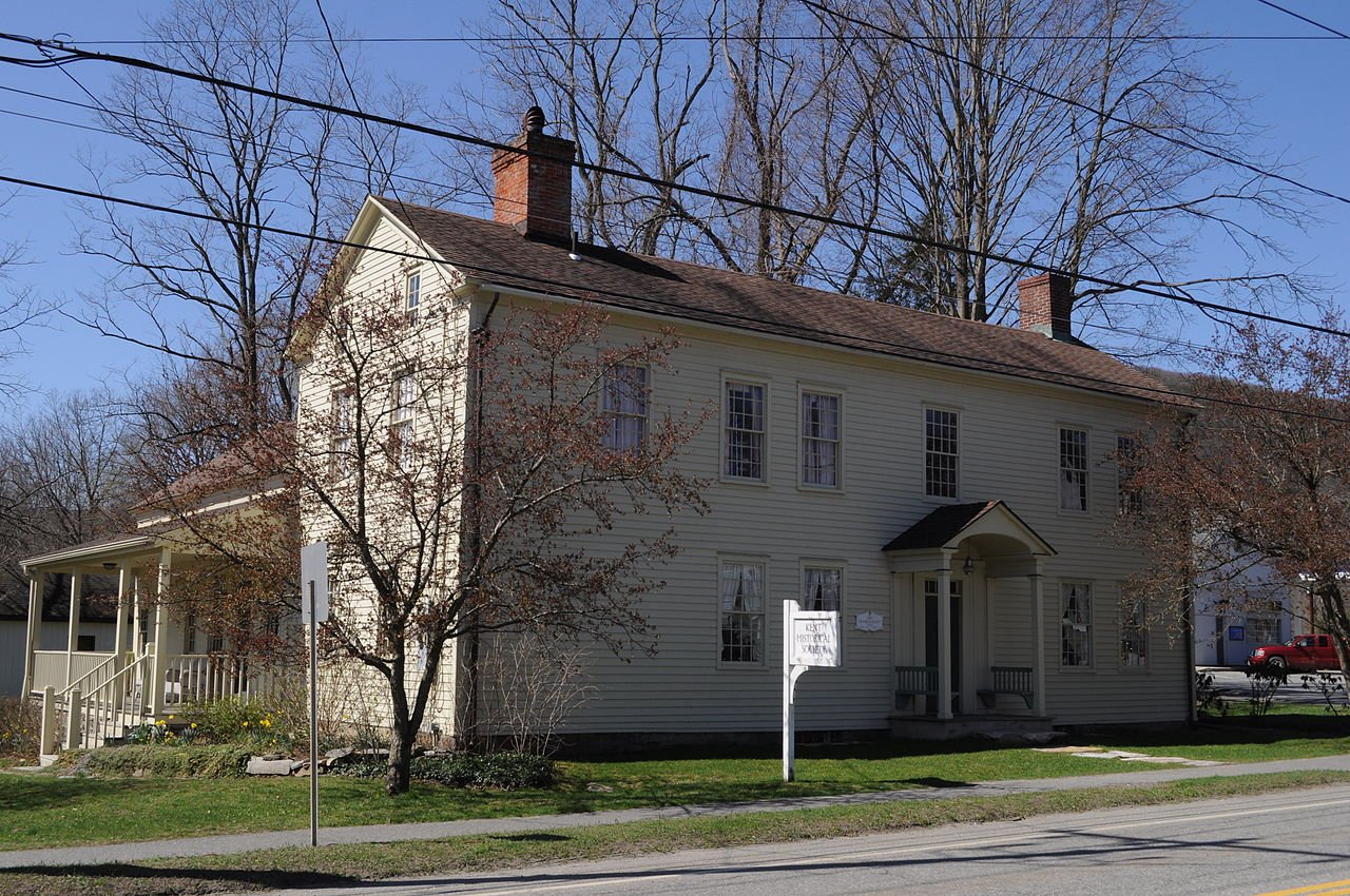 The Kent Historical Society was established in 1954.
