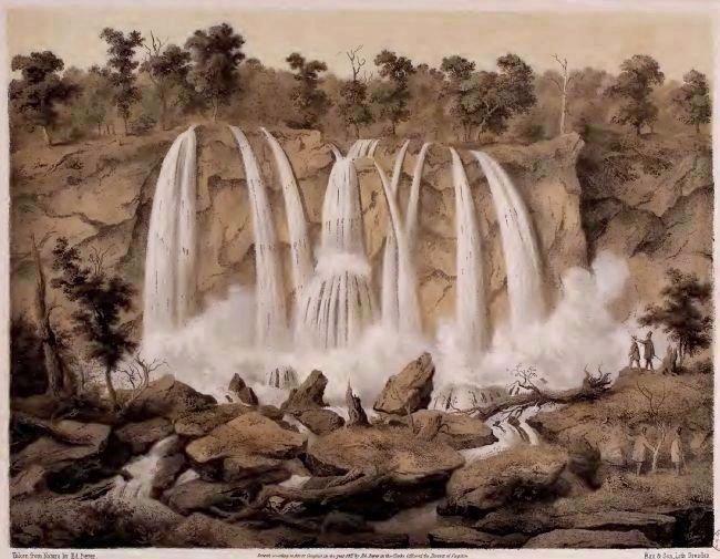 The original 200-foot waterfall