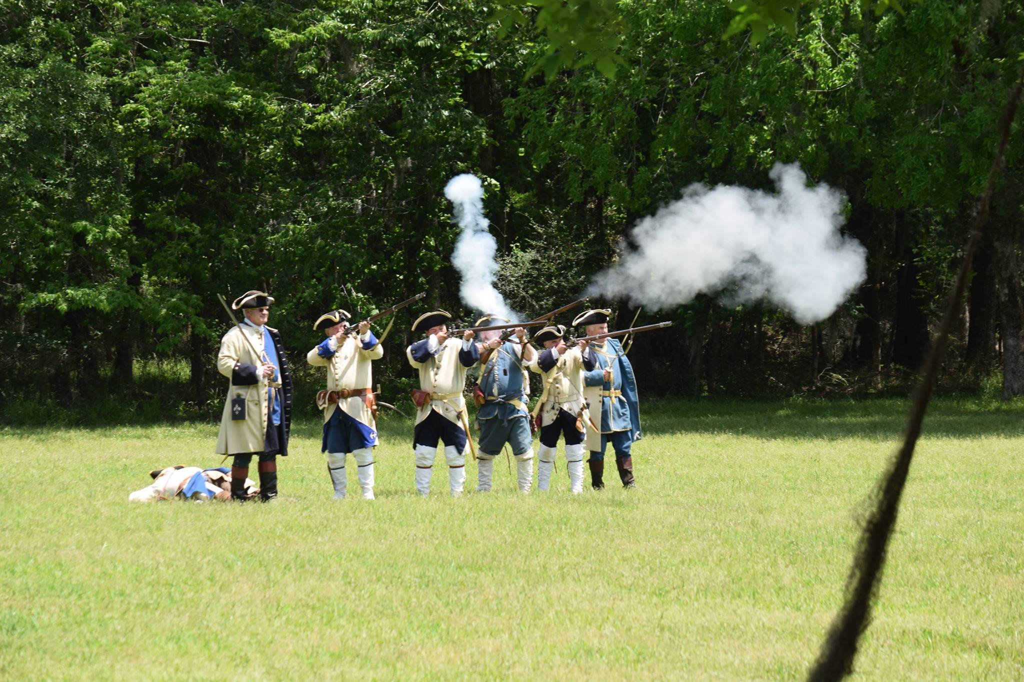 The site offers a variety of events throughout the year, including historical reenactments.