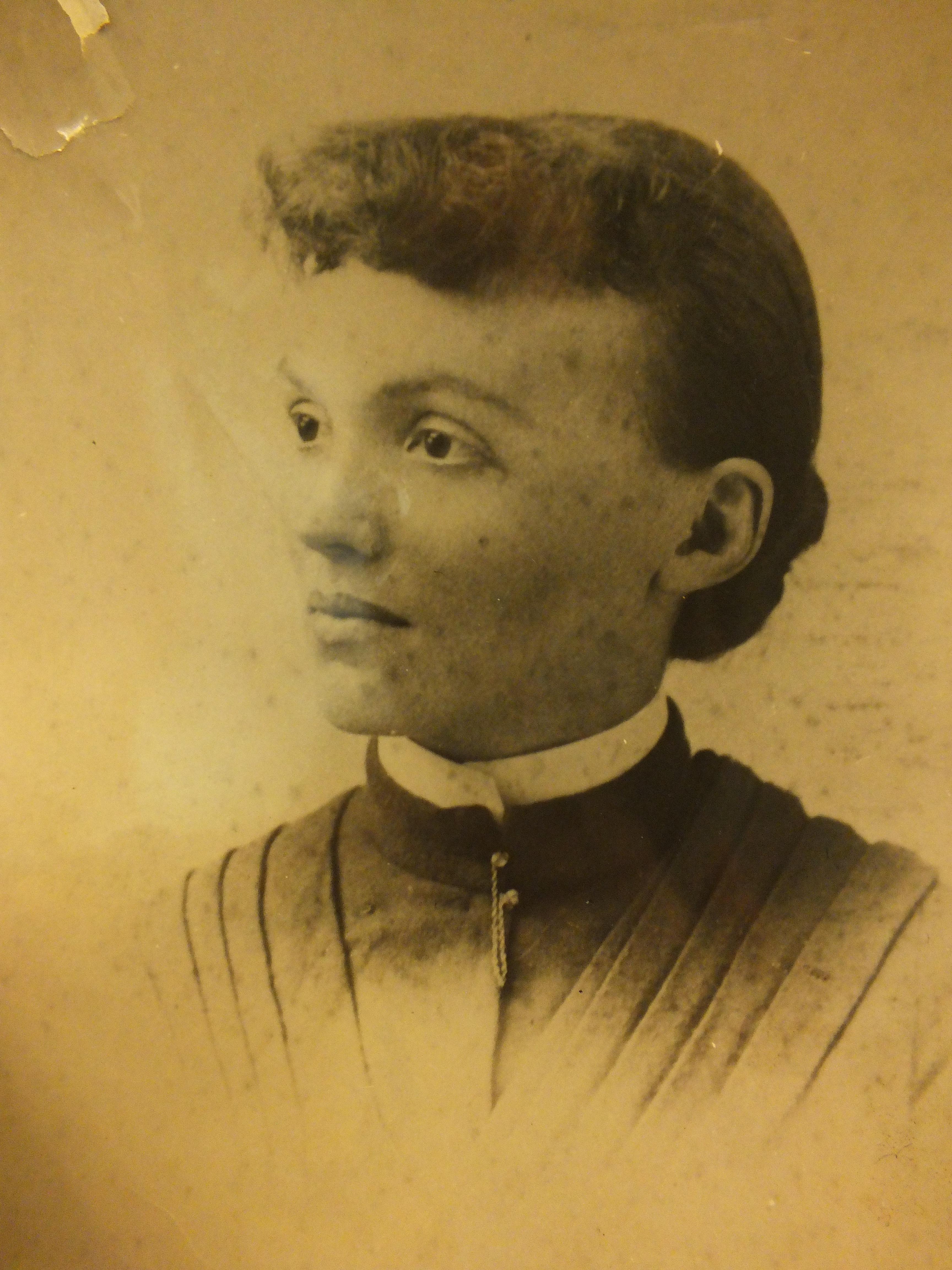Eleanor Kennedy Scull in 1891