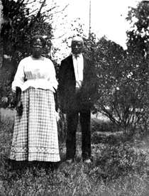 Abache and Cudjoe Lewis, 1912