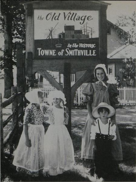 This image was taken by Susan Wood in the 1975 Good Housekeeping article discussing the Towne of Historic Smithville.
