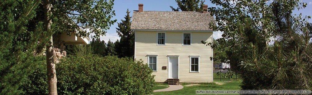 Buffalo Bill's Boyhood Home. Image from: Buffalo Bill Center of the West