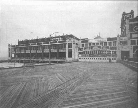 North side of Convention Hall. Date of image unknown.