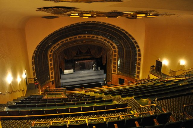 Paramount Theatre, which is inside of Convention Hall. Today, there are concerts regularly held there. Previously, the theatre was owned by Paramount Pictures, Inc.