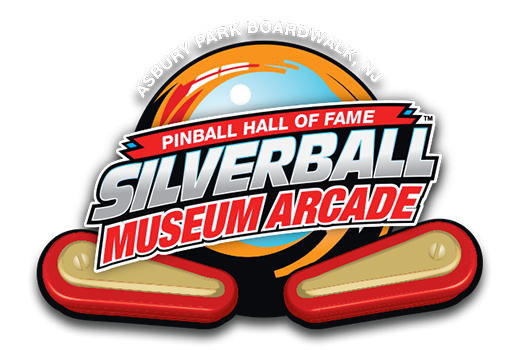 This picture is the main logo of the Silverball Museum Arcade, from the Silverball Museum Arcade website.