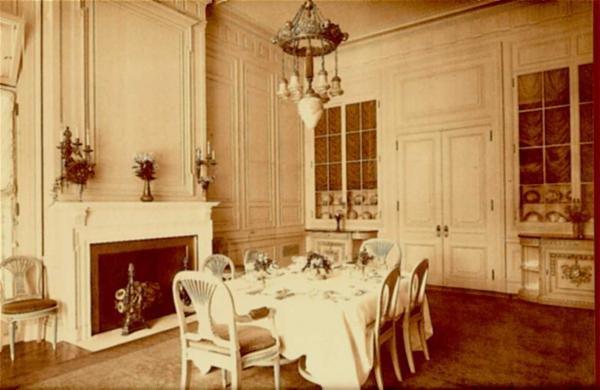 Dining room. Library website.