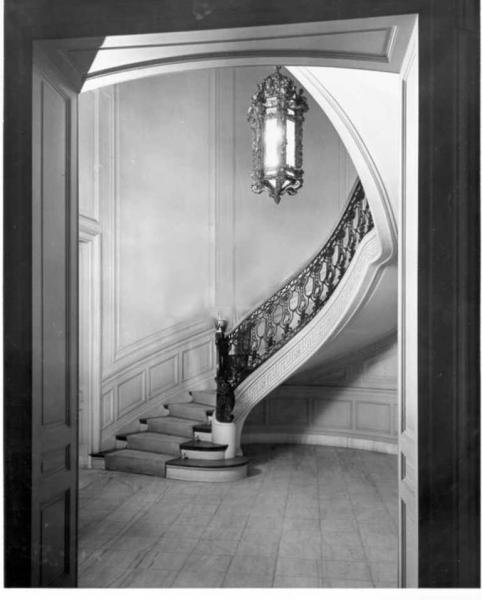 Sprial staircase. Library website.