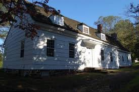 This is a photo of Marlpit Hall. Marlpit Hall was constructed after the original home on the property was demolished.