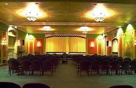Basement level auditorium. Photo by Nicholas Petrillo.