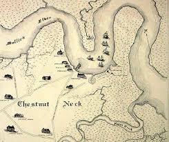 Map of Chestnut Neck
