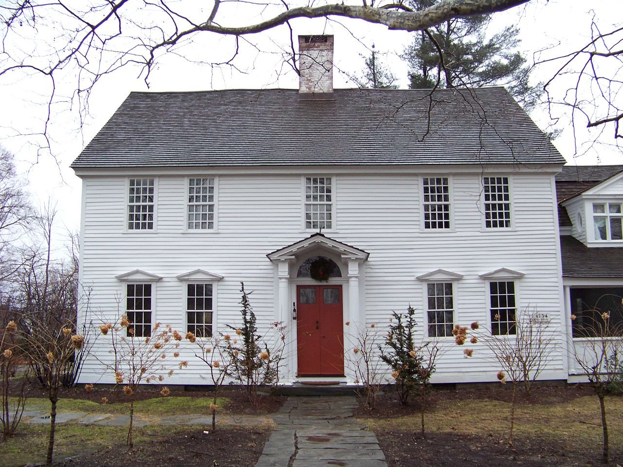 The Oliver Wolcott House was built in 1753 and is National Historic Landmark.