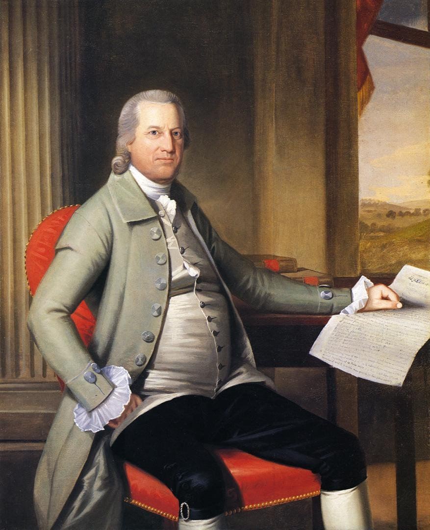 Oliver Wolcott (1726-1797) was the 19th governor of Connecticut.