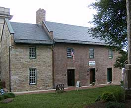 This historic jail was built in 1808 and holds the collection of the county historical society as well as a small museum