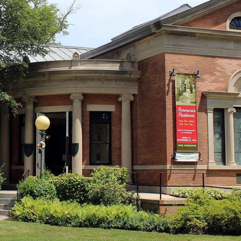The Litchfield Historical Society was established in 1856.