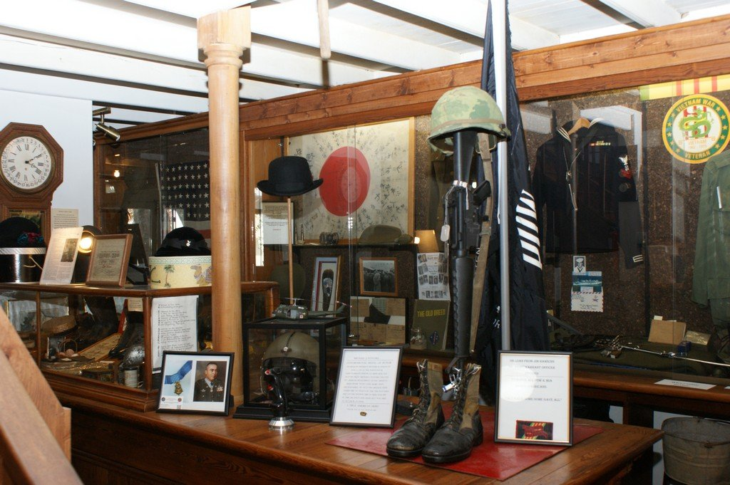 A display at the museum