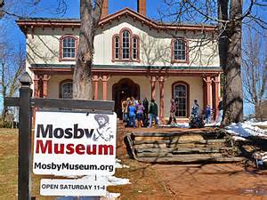 The Mosby Museum preserves the history of Confederate colonel and guerrilla John S. Mosby.
