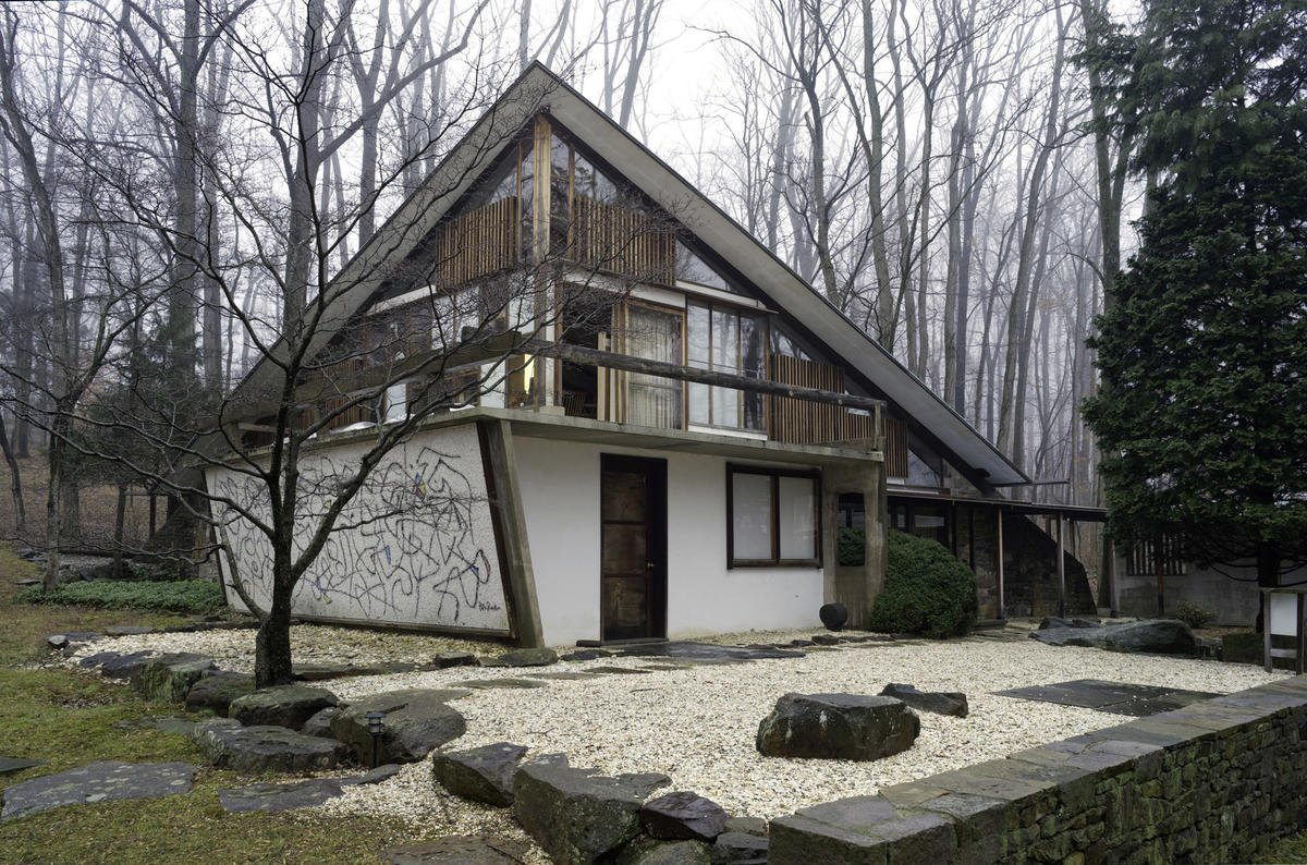 The Arts Building at the Nakashima Complex.