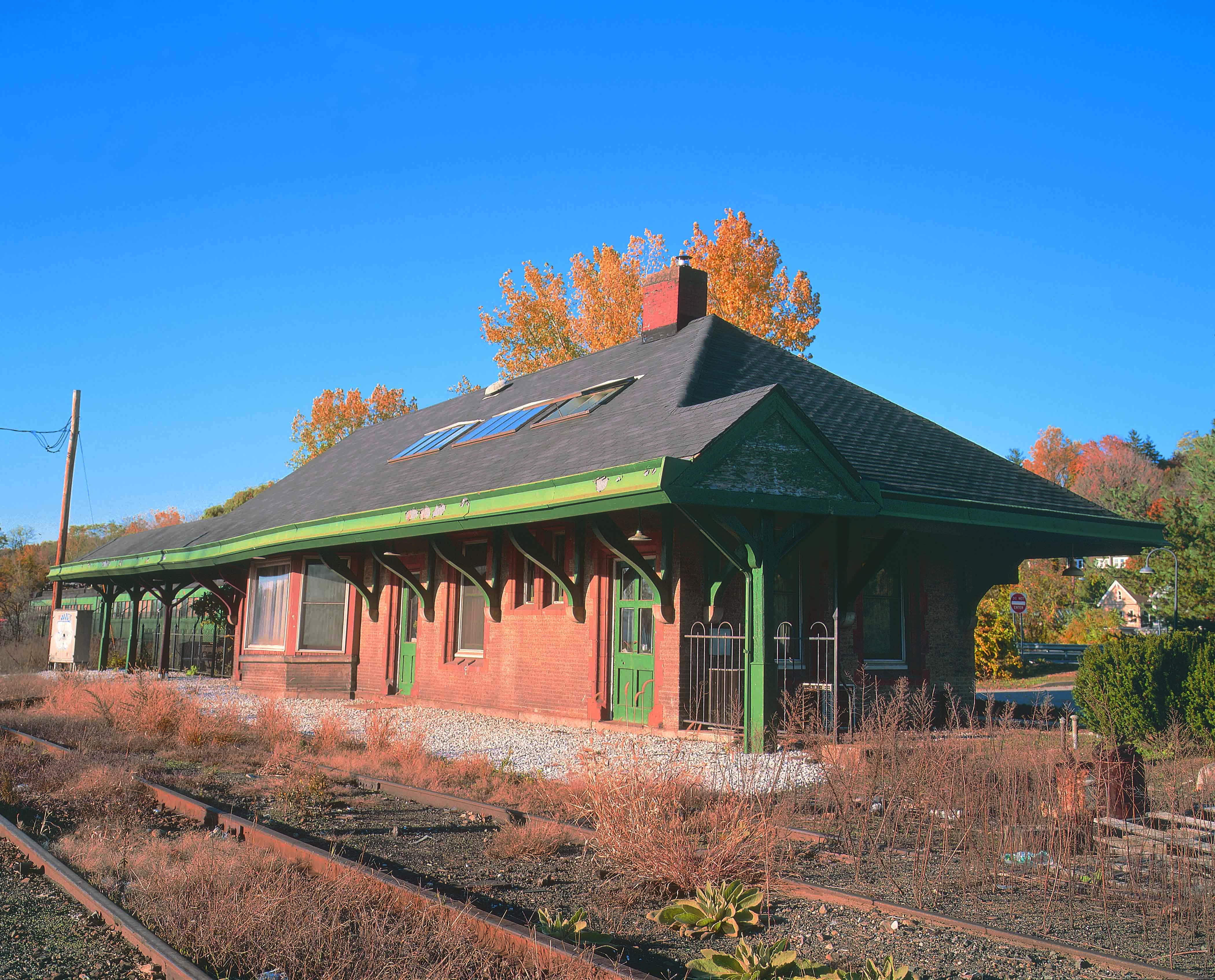 Croton North Station in 2003.
