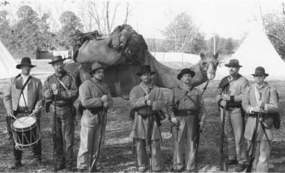 Douglas the Confederate Camel. Douglas the Camel was a token member of the 43 Mississippi Infantry until shot by a Union sharpshooter in June of 1863.