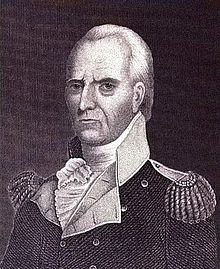 Illustration of General John Stark, 1777.