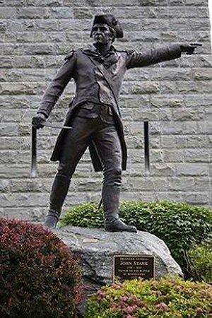 The John Stark Monument, located in Bennington, Vermont.