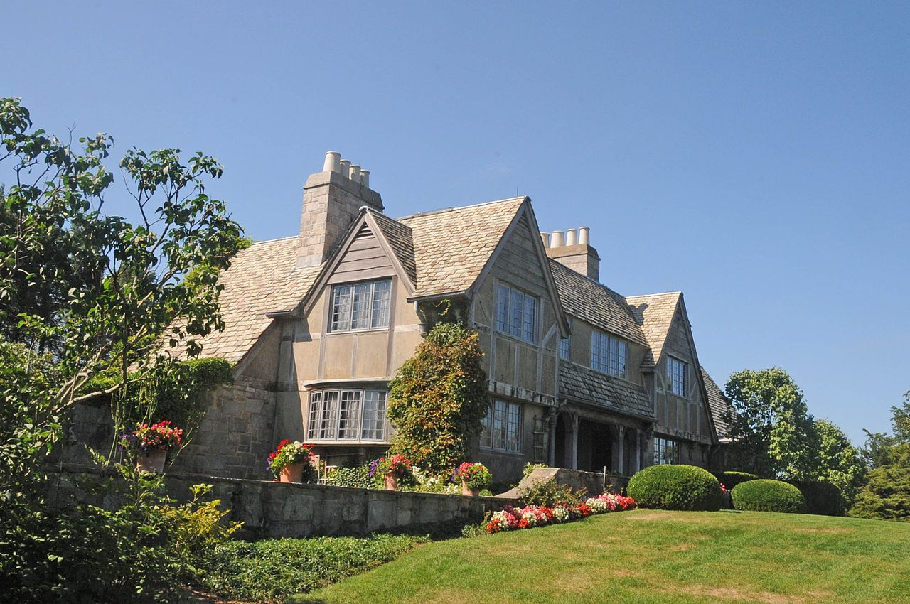 Topsmead was built in 1925 in the Tudor Revival style by Edith Morton Chase. Visitors can take free guided tours of the house.