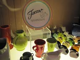 Fiesta Ware display