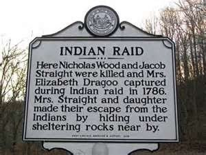 This historical marker mirrors the text of the 1937 marker it replaced with the exception of the title.