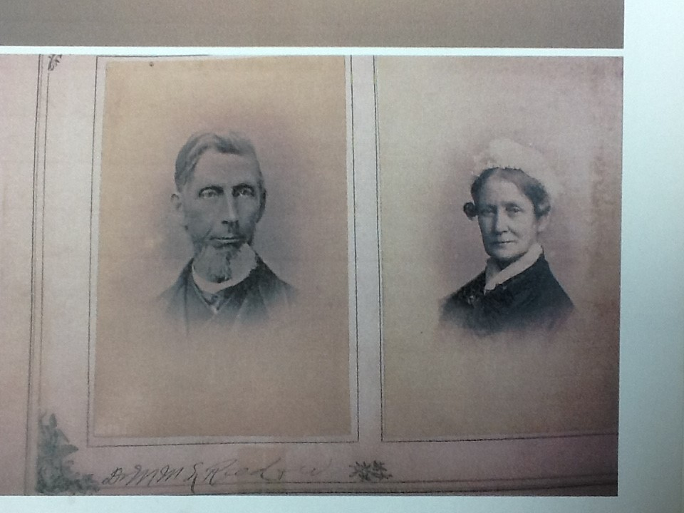 Undated photo of Marco and Elizabeth Reed.