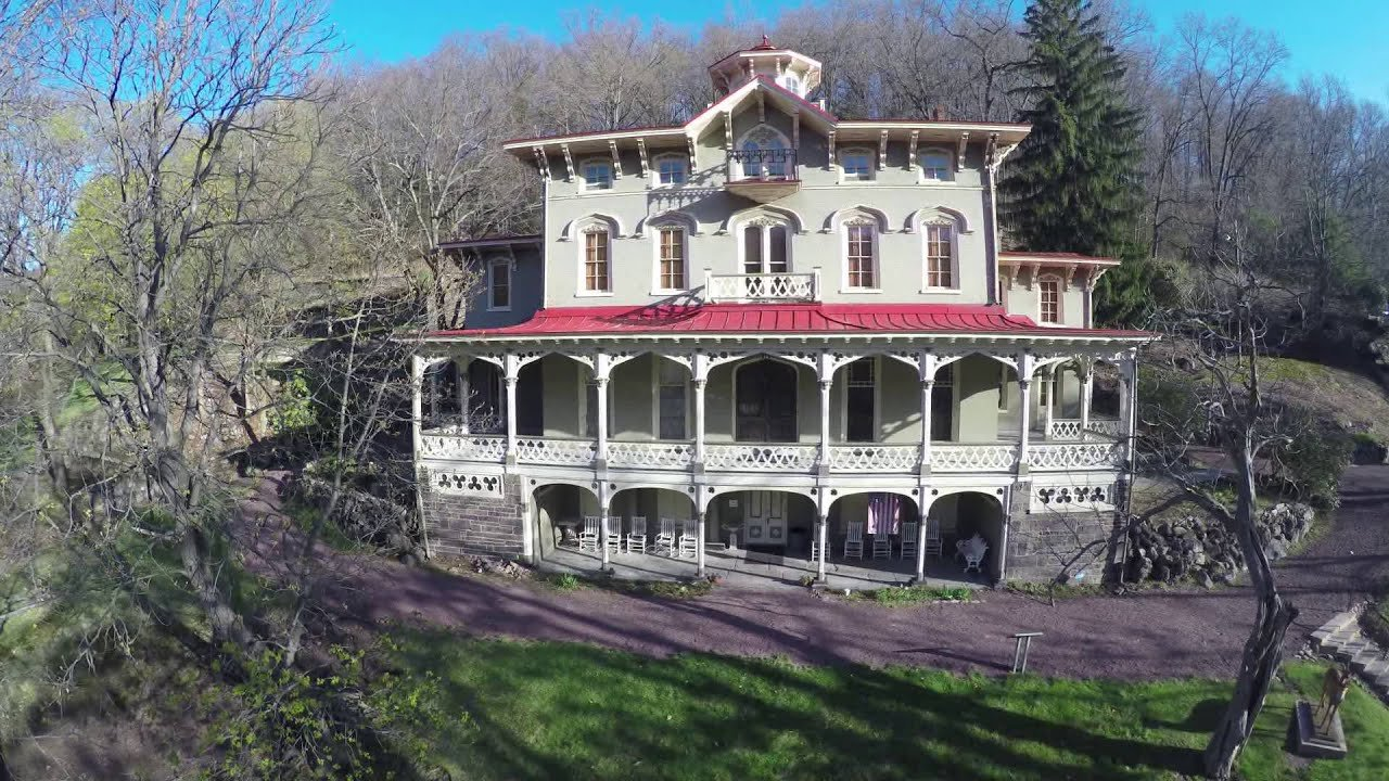 The Packer Mansion is not a restored 19th century home.  It is one of the few preserved 19th century mansions in the country.