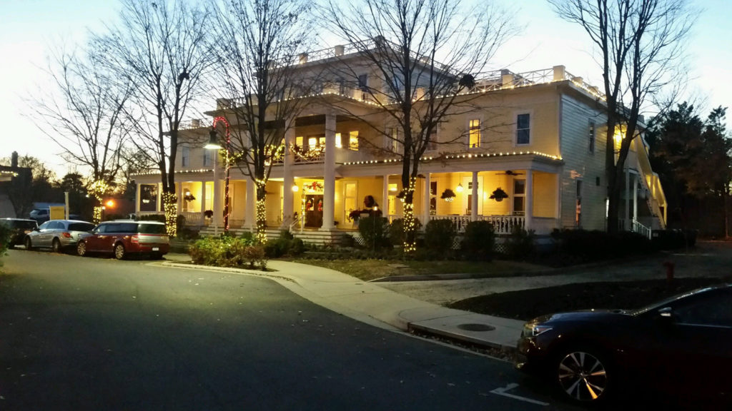 Henry Clay Inn during the Holidays.