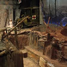 "Experience a walk-through of ""WWI Trench Experience"""