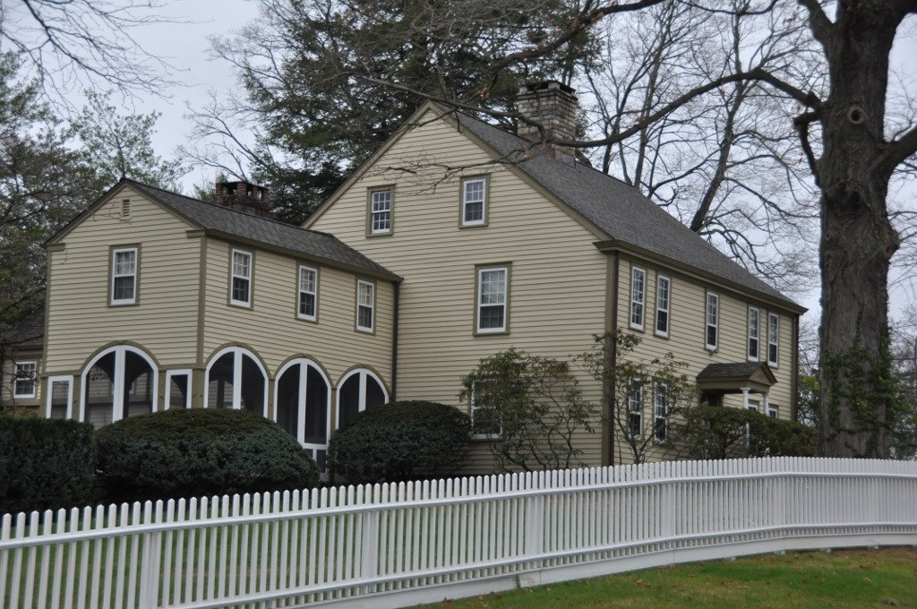 The Stephen Tyng Mather Home was built in 1778 and is a National Historic Landmark.