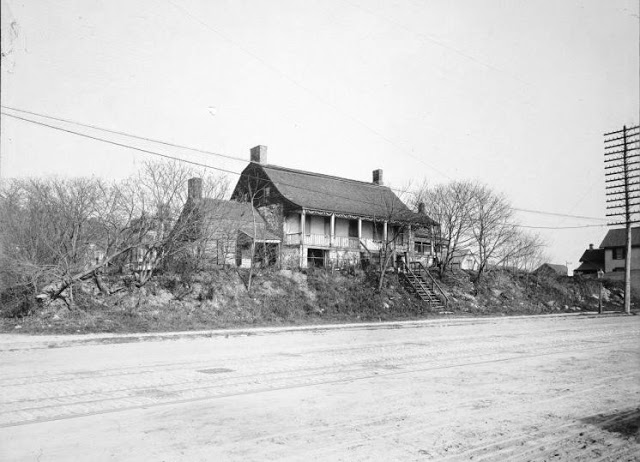 The Dyckman Farmhouse ca. 1895