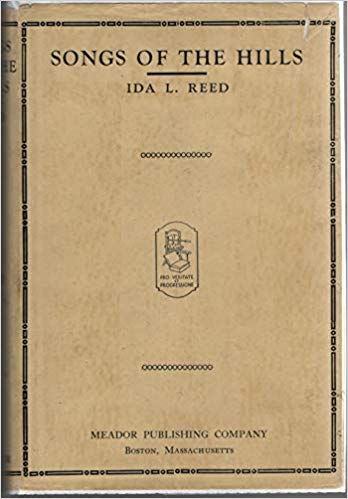 Cover of Reed's 1940 book Songs of the Hills