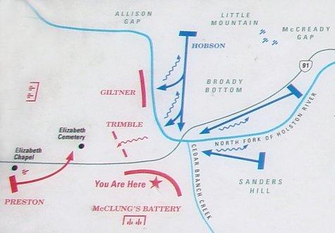 Battle of Saltville map