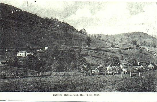 Historic photo from the Saltville Battlefield