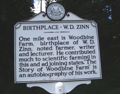 Photo of the marker