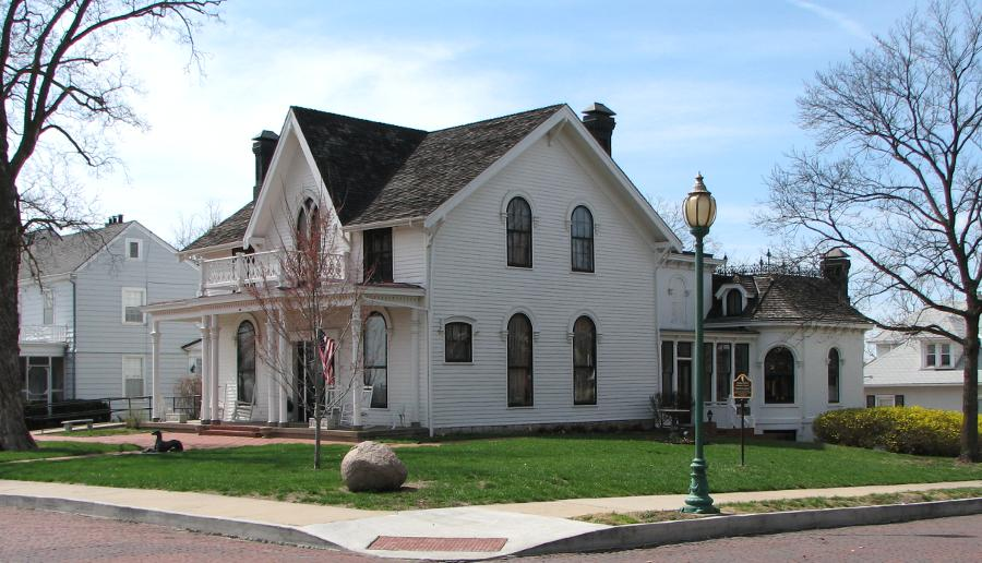 The Amelia Earhart Birthplace and Museum is located in Atchison.