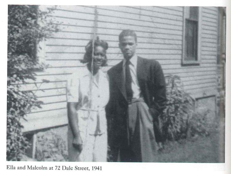 Malcolm X and Ella
