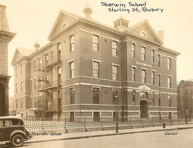 Picture of the Sherwin School (circa 1920-1960)