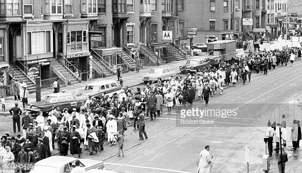 Photo of the March on Roxbury (September 22, 1963)