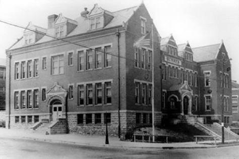 The original Sumner High School, 1905-1939