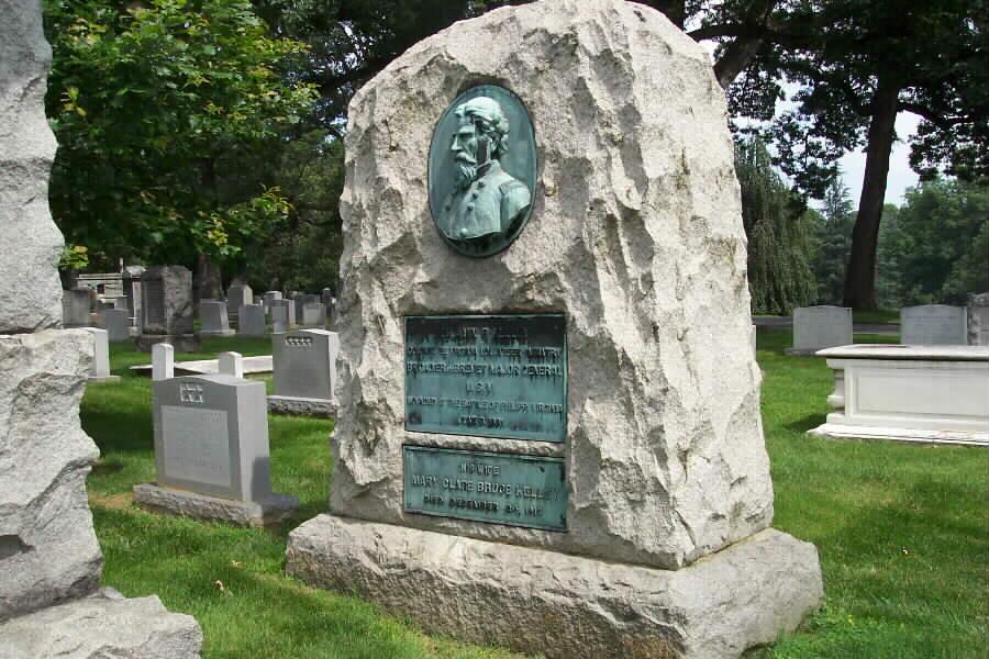 Gen. Kelley's grave in Arlington National Cemetery.